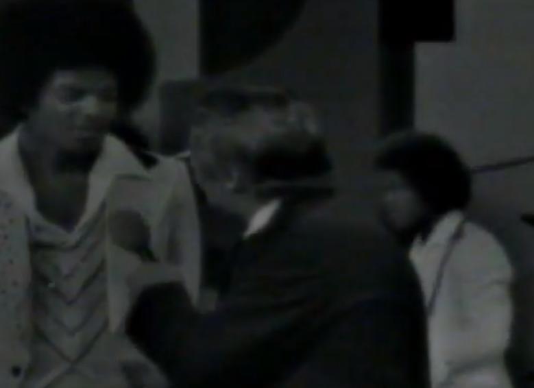 Michael Jackson y Amador Bendayan en Sábado Sensacional